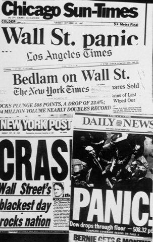 Krach de Wall Street