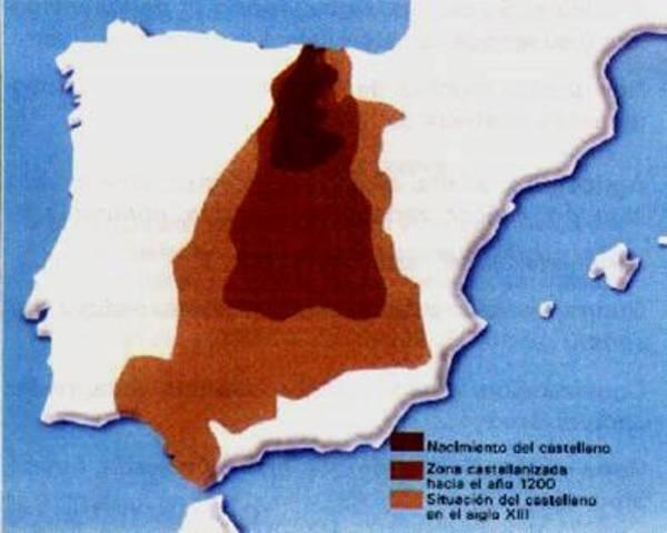 Surgimiento del dialecto castellano