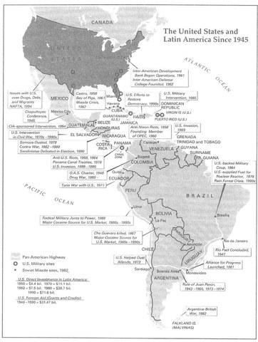 Cold War in Latin America (1950s)