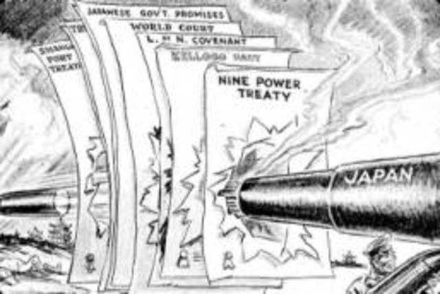 The Manchurian Crisis/ Mukden Incident