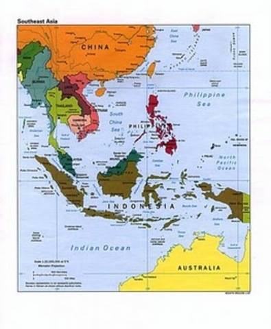 Cold War in Southeast Asia (1950s)
