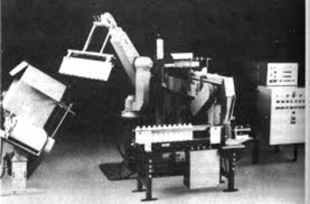 Primeros robots industriales