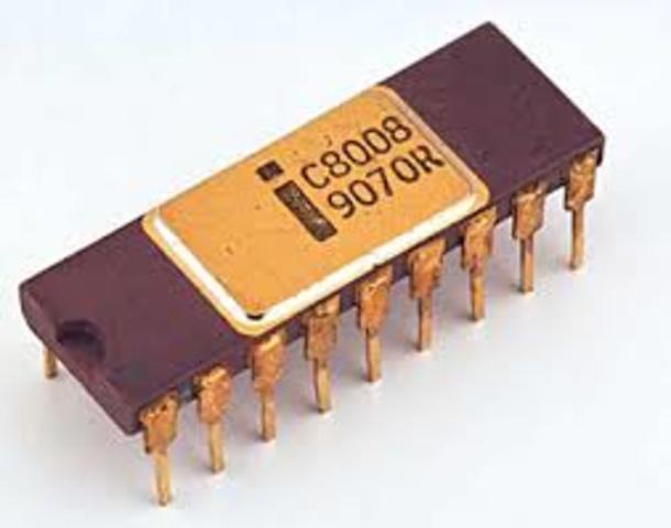 Invencion del microprocesador Intel 8008