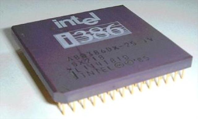 Intel - Microprocesador 32 bits