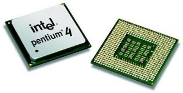 Integracion  del microprocesador Pentium 4