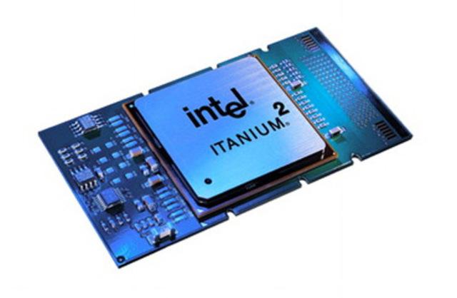 Integracion del microprocesador Itanium II