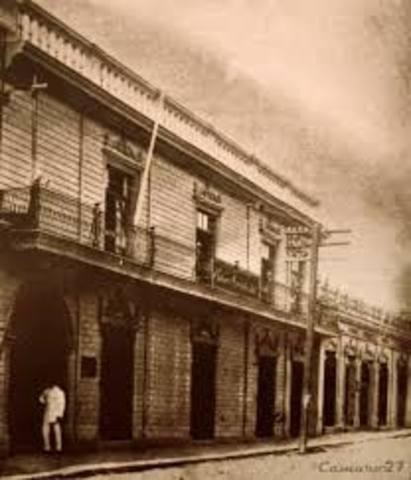 Nacio El Banco Occidental.