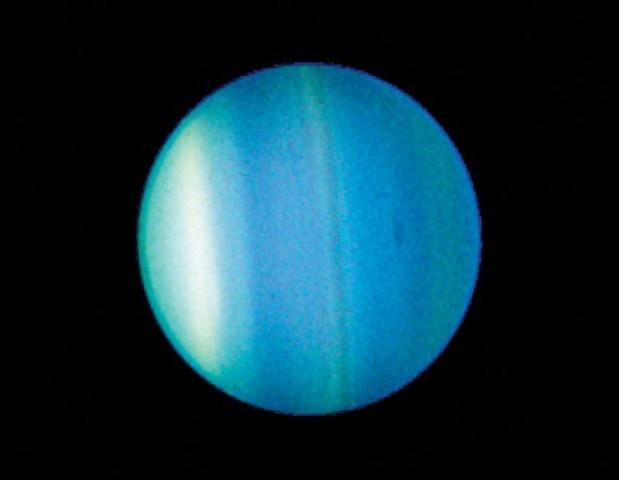Uranus was discovered.