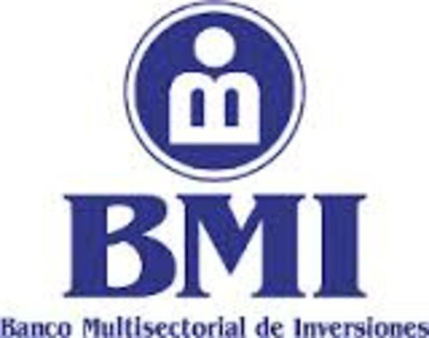 Creación del Banco Multisectorial de Inversiones
