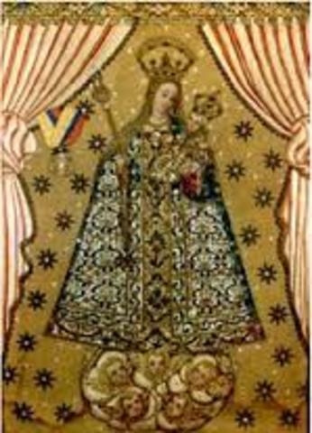 Virgen del Rosario Advocacion de la Bordadita