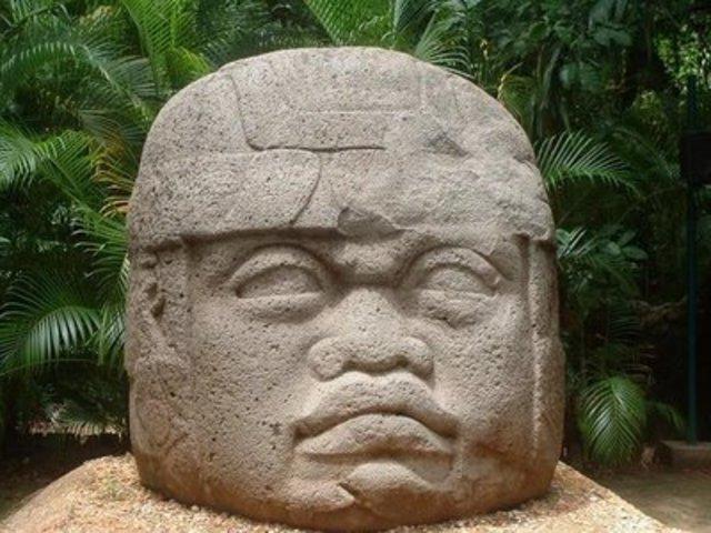 Cultura Olmeca 1200 a.c