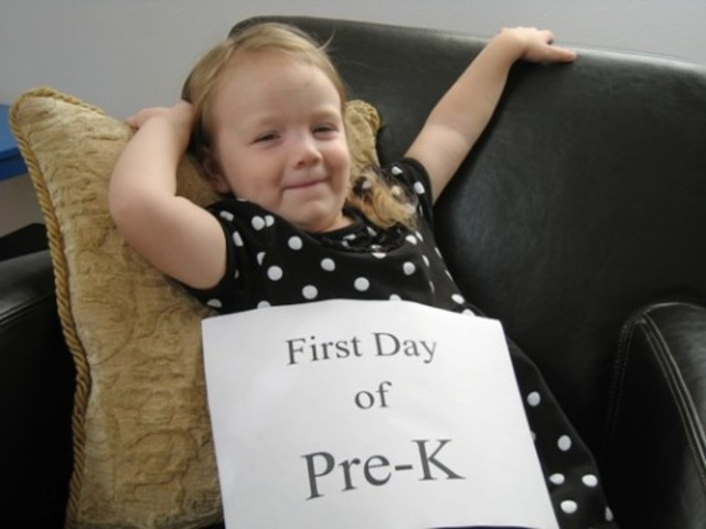 I started Pre-K