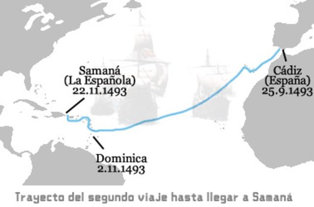 Segundo Viaje 13 de semptiebre de 1496