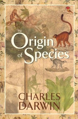 The Orgin of Species published by Charles Darwin