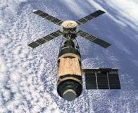 First space station in space