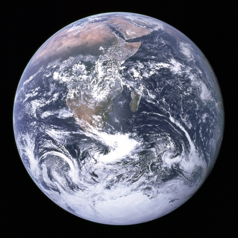 First picture of Earth