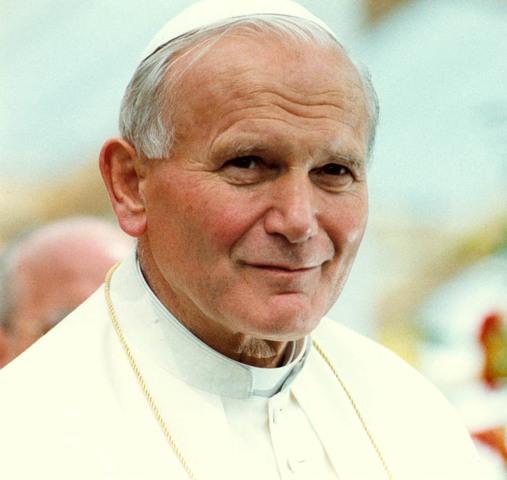 Pope John Paul II endorses evolution