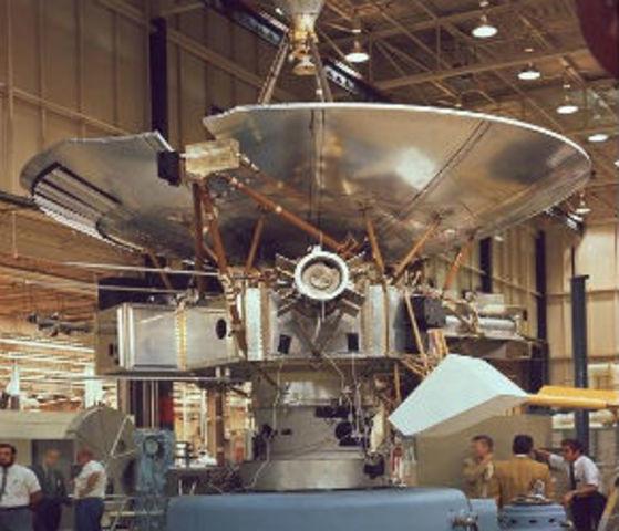First spacecraft beyond the orbit of Neptune