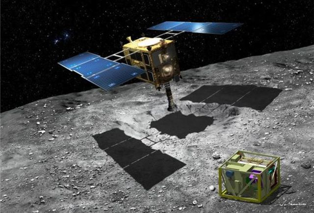 First sample of an asteroid brought back to earth by Japan