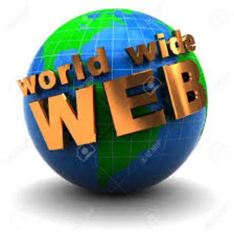 Se desarolla la World Wide Web.