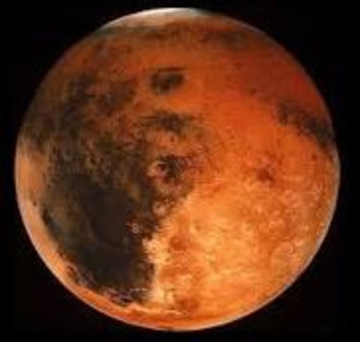 First Surface Images of Mars
