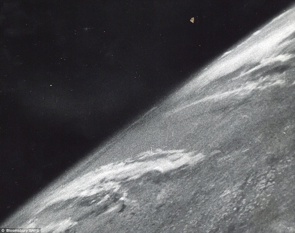 First photograph of earth from orbit