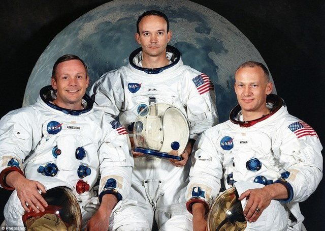 The men on the moon