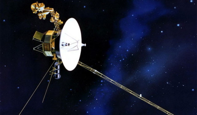 Launch of Historic Voyager Missions
