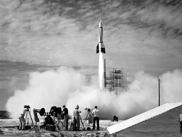 First manned space flight