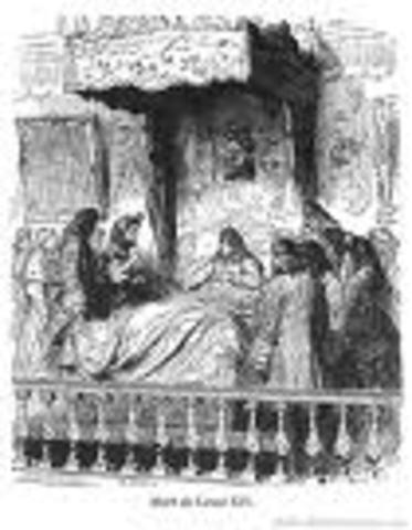 Mort de Louis XIV