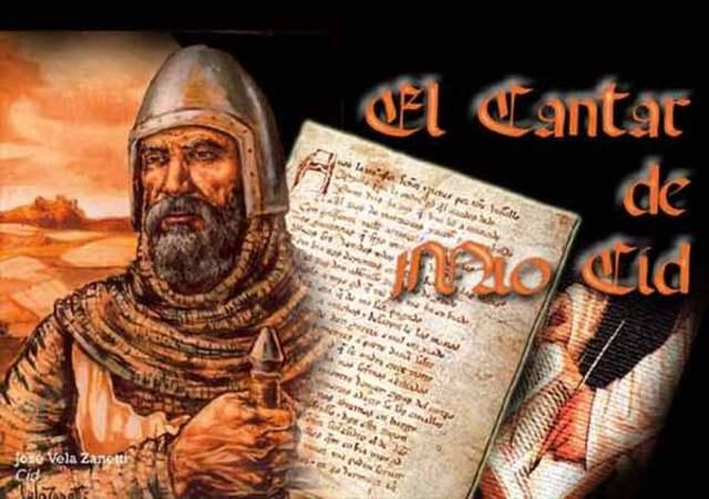 """Siglo Xl """"El cantar del Mio Cid"""""""
