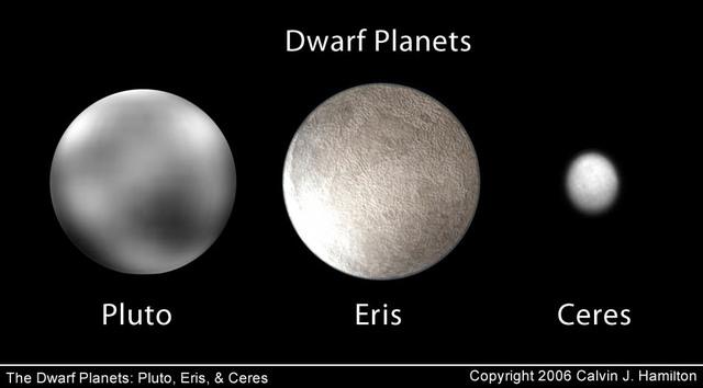First Spacecraft to Orbit a Dwarf Planet