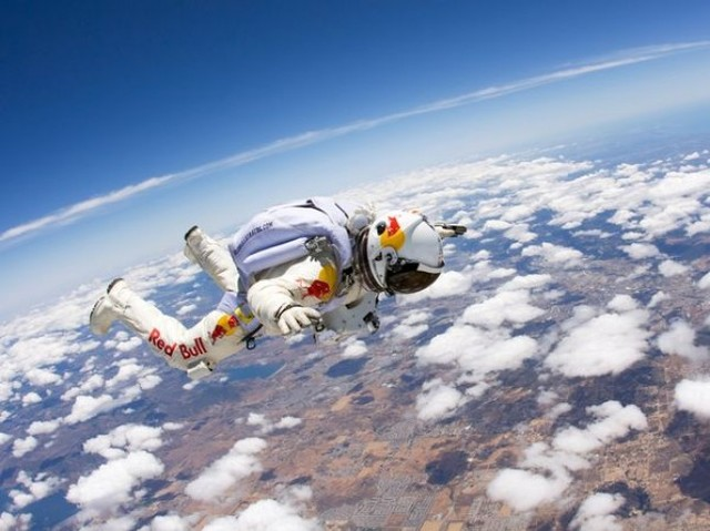 First Skydive Jump to Break the Sound Barrier