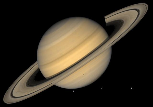 Cassini Probe Arrives at Saturn