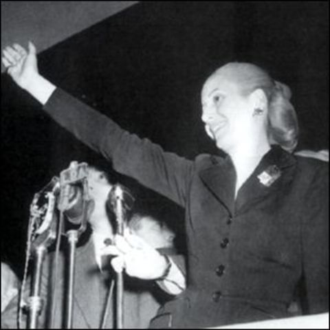 Reconocidos derechos políticos y de sufragio a la mujer (1951-1955)
