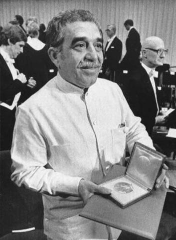 Gabriel García Márquez gana Premio Nobel de Literatura (1981-1985)