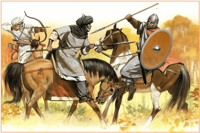 Invasión Árabe Siglo VIII (711 c.E.)