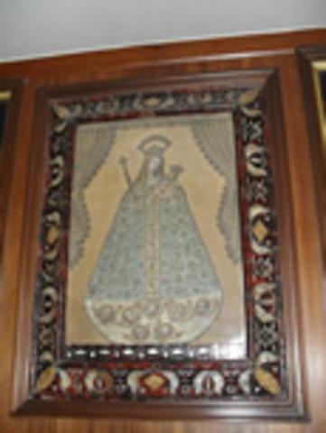 Virgen del Rosario. Advocación de la Bordadita