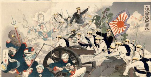 The First Sino-Japanese War