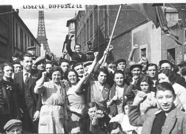 Le front populaire (1936- 1938)