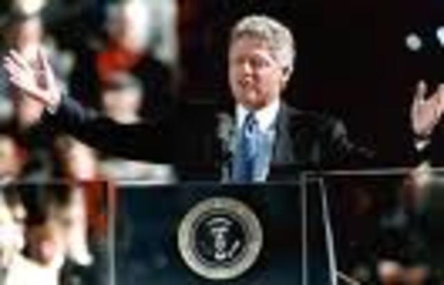 Bill Clinton Inaugurated