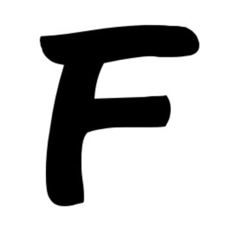 """La letra """"f"""""""