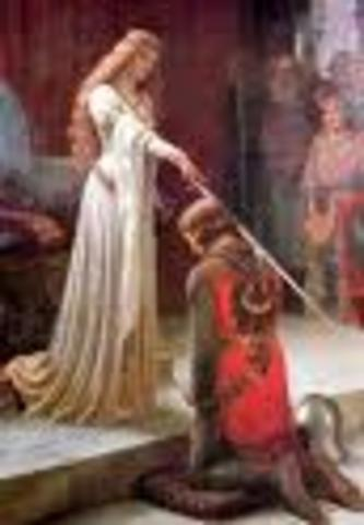 Knighted by Emperor Charles VI