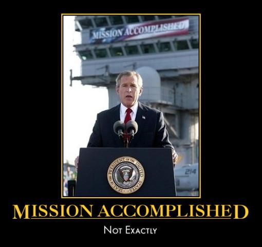 """Mission Accomplished"""