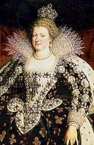 La Régence est confiée à Marie de Médicis.