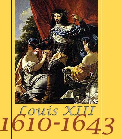 Sacre de Louis XIII à Reims.