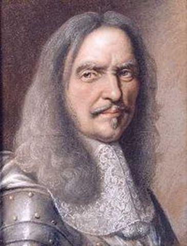 Naissance d'Henri de la Tour d'Auvergne, Vicomte de Turenne