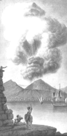 Éruption dévastatrice du Vésuve