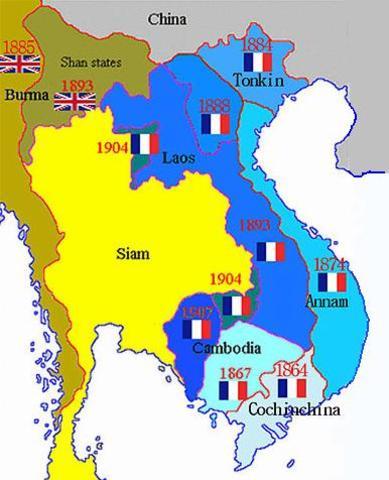 Vietnam split at 17th parallel