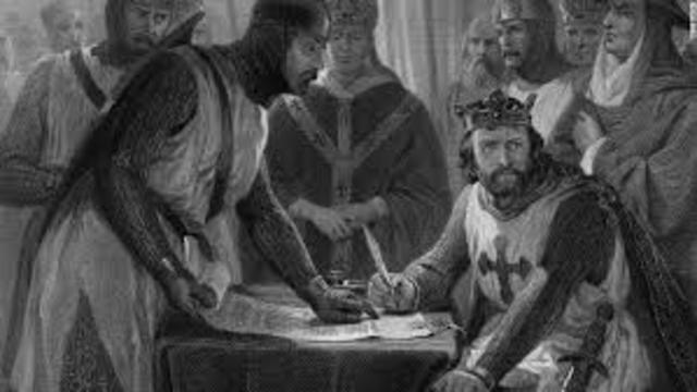Carta Magna (1215 D.C.)